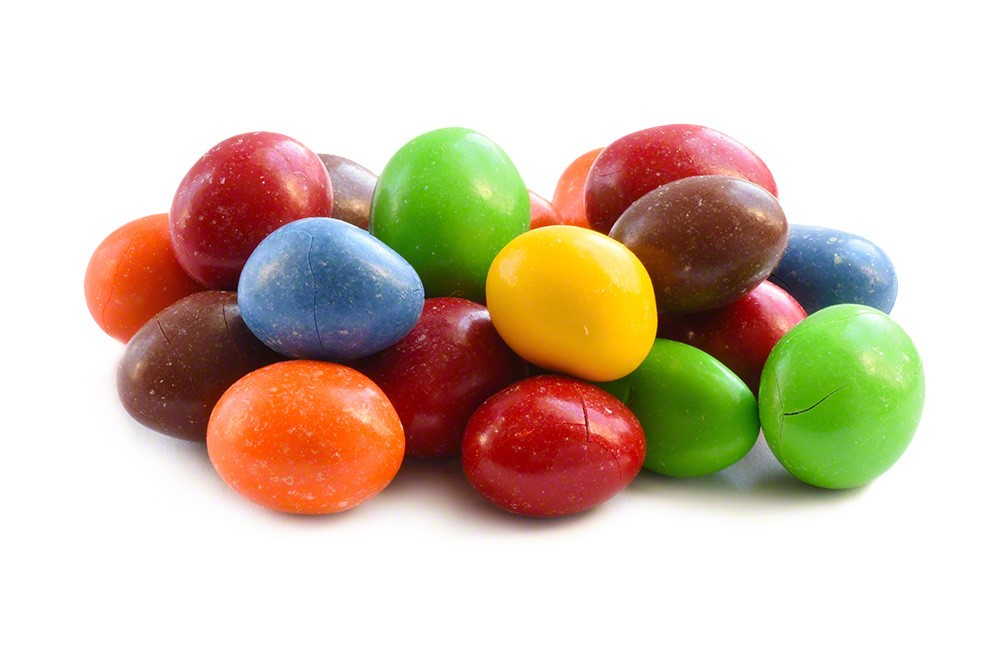 chocolate peanut gems � colored chocolate gems for sale