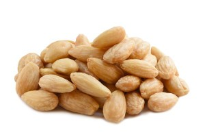Almonds Blanched Roasted Salted