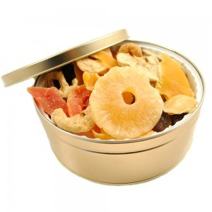 Low Sugar Low Sulfur Dried Fruits - Gift Tin