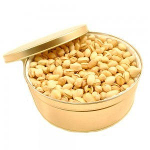 Pistachios Roasted Unsalted - Gift Tin